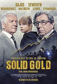 Janusz Gajos, Andrzej Seweryn, and Marta Nieradkiewicz in Solid Gold (2019)