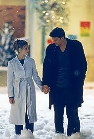 Sarah Michelle Gellar and David Boreanaz in Buffy the Vampire Slayer (1997)