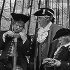 Wallace Beery, Nigel Bruce, and Jackie Cooper in Treasure Island (1934)