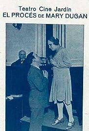 El proceso de Mary Dugan Poster