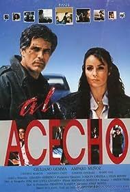 Giuliano Gemma and Amparo Muñoz in Al acecho (1987)
