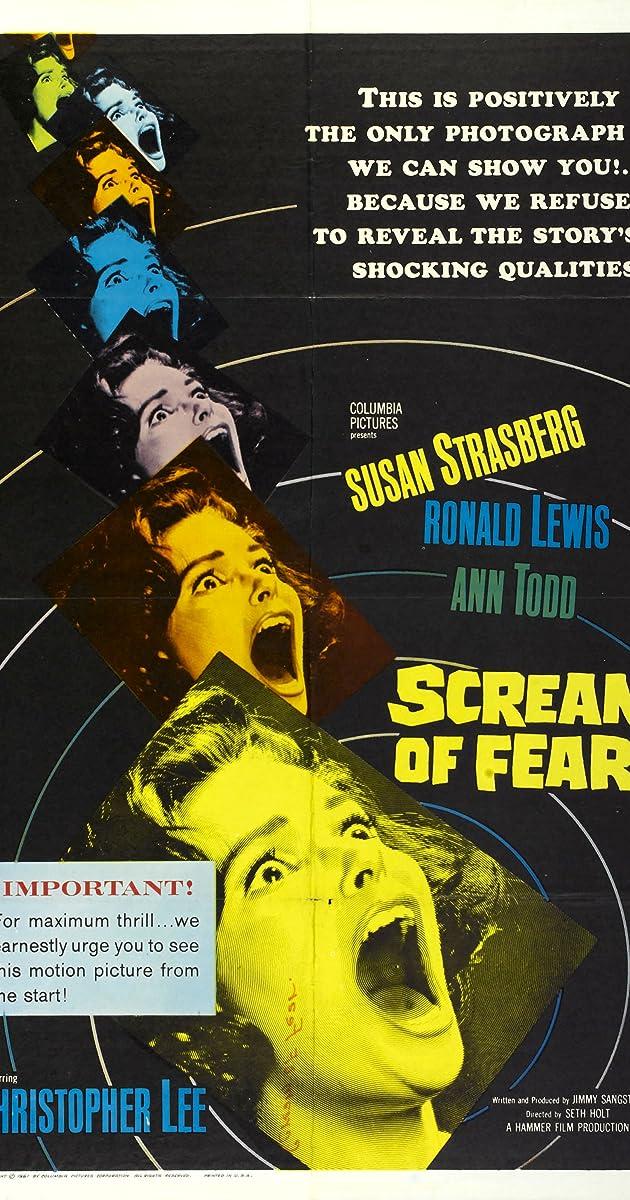 Subtitle of Scream of Fear