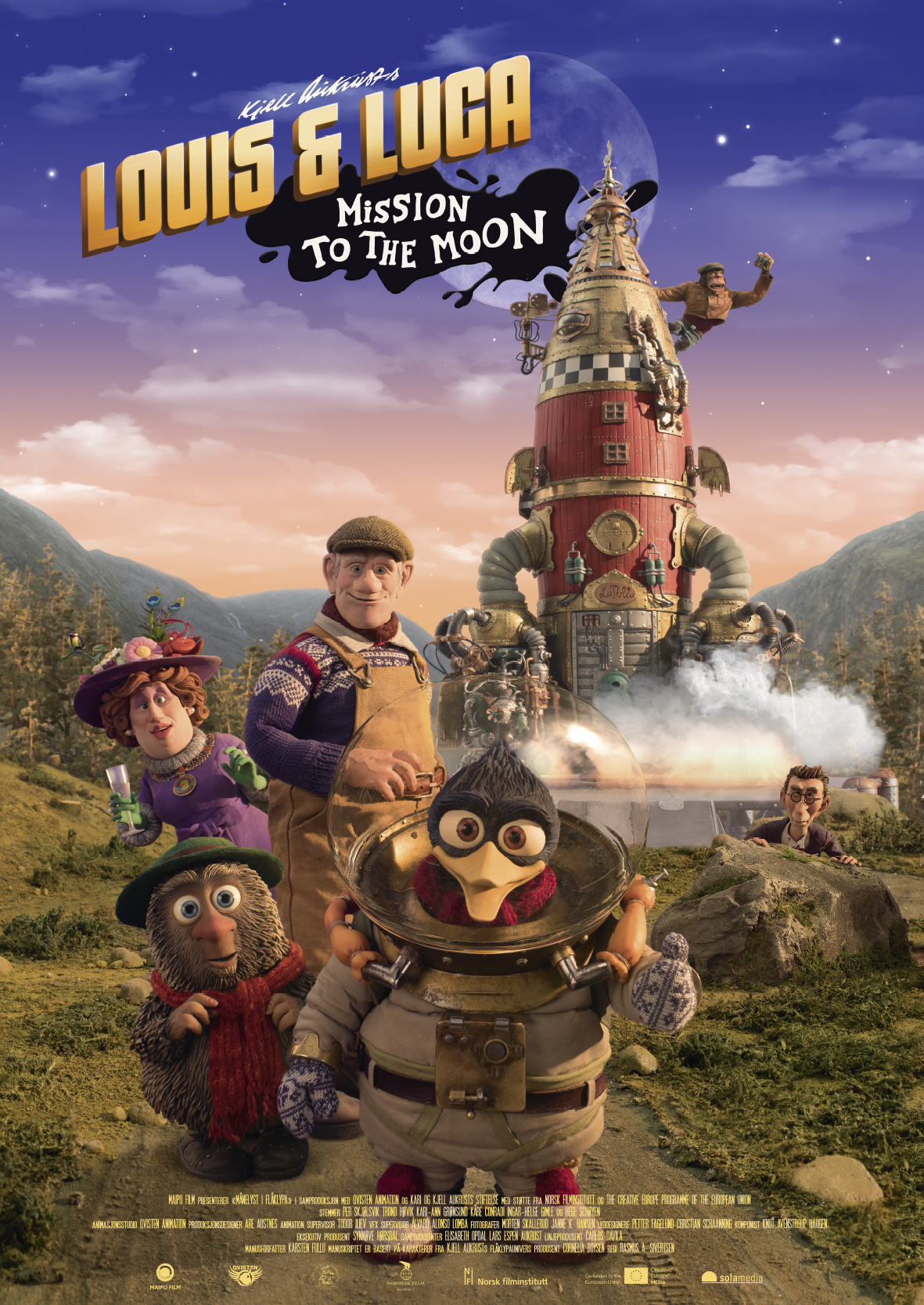 Louis & Luca - Mission to the Moon (2018) WEBRip 720p