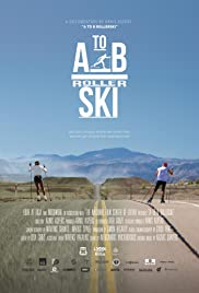 A to B Rollerski Poster