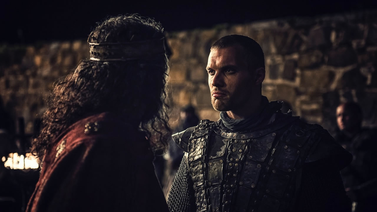 Danny Keogh and Ed Skrein in Northmen - A Viking Saga (2014)
