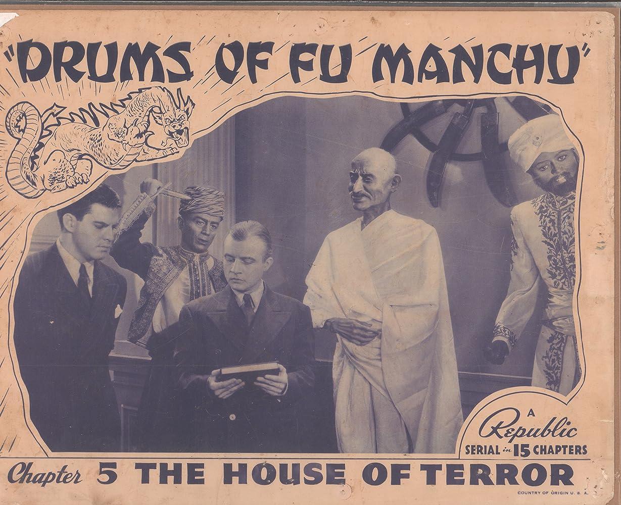 Dwight Frye and Robert Kellard in Drums of Fu Manchu (1940)