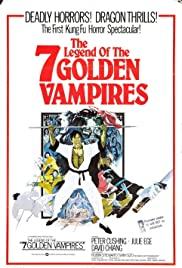 The Legend of the 7 Golden Vampires (1974) Poster - Movie Forum, Cast, Reviews