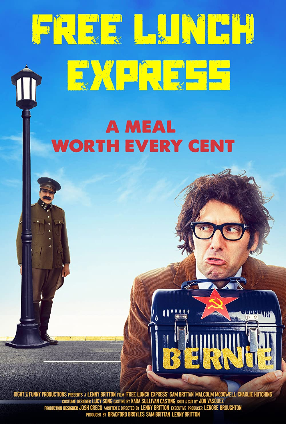 Free Lunch Express 2020 English 720p HDRip 800MB | 260MB Download