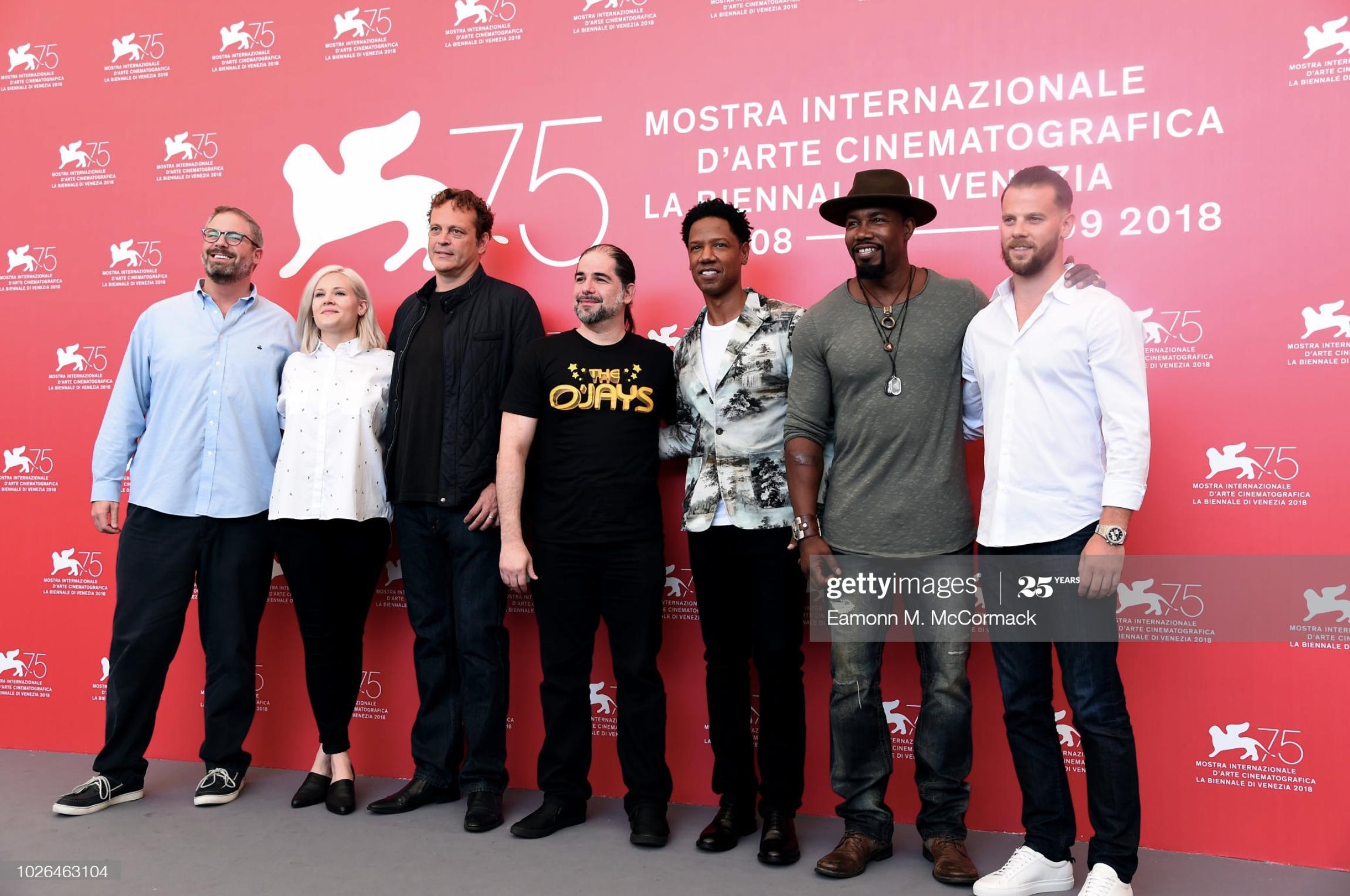 DRAGGED ACROSS CONCRETE - 75th Venice Film Festival
