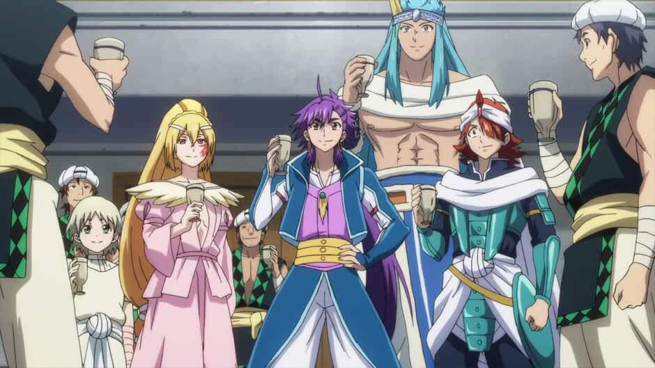 Magi: Sinbad No ,Magi: Adventure of Sinbad
