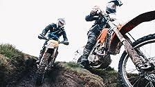 Compitiendo con la Isla de Man en Dirt Bikes