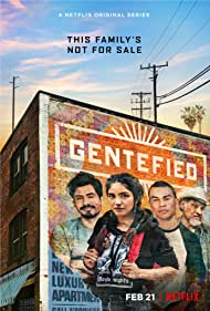 Joaquín Cosio, Joseph Julian Soria, Carlos Santos, and Karrie Martin in Gentefied (2020)