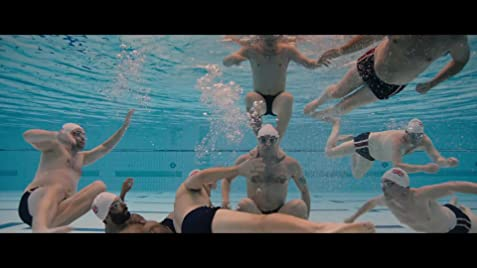 d1018857a2eb0 Swimming with Men Poster. Trailer