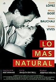 Lo más natural Poster