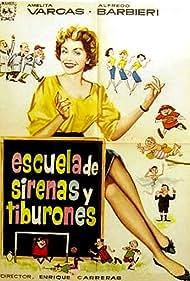 Amelia Vargas in Escuela de sirenas y tiburones (1955)