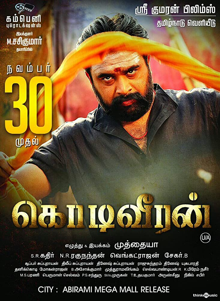 Kodiveeran (2017) Hindi 720p HEVC HDRip x265 – 600 MB