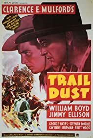 William Boyd and James Ellison in Trail Dust (1936)