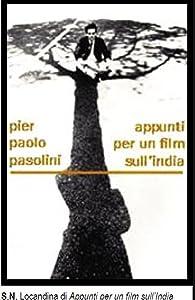Appunti per un film sull'India Pier Paolo Pasolini