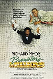 Brewster's Millions (1985) Poster - Movie Forum, Cast, Reviews