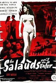 Marina Vlady in Les salauds vont en enfer (1955)