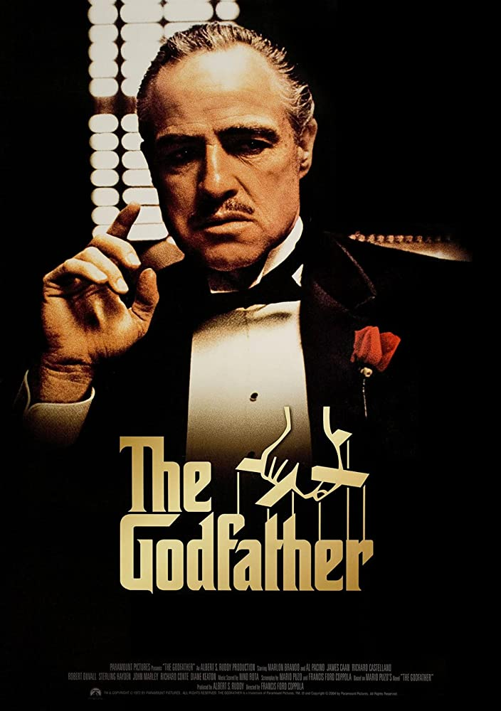 The Godfather 1972 Dual Audio Hindi 650MB BluRay ESub Download