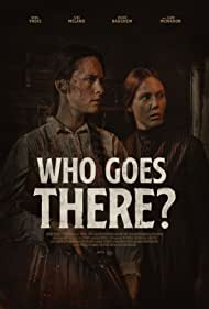Liam McMahon, William Gillies, Adam Speck, Rikke Haughem, Leah Bethany Jones, Siri Meland, Armiliah Aripin, Nina Yndis, Graham Boonzaaier, Astrid Thorvaldsen, and Peter Coulthard in Who Goes There? (2020)