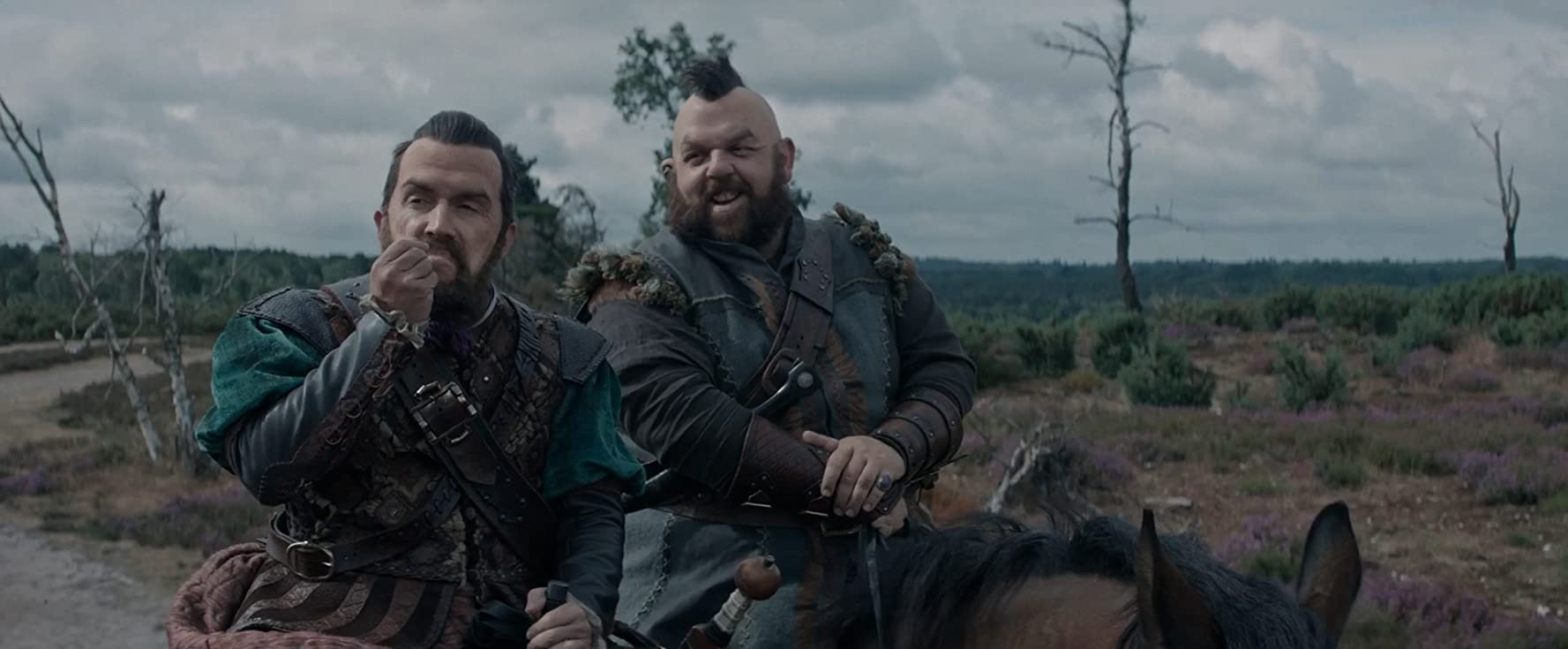 Rob Brydon and Nick Frost in The Huntsman: Winter's War (2016)