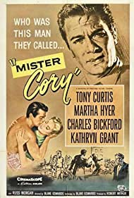 Tony Curtis and Martha Hyer in Mister Cory (1957)