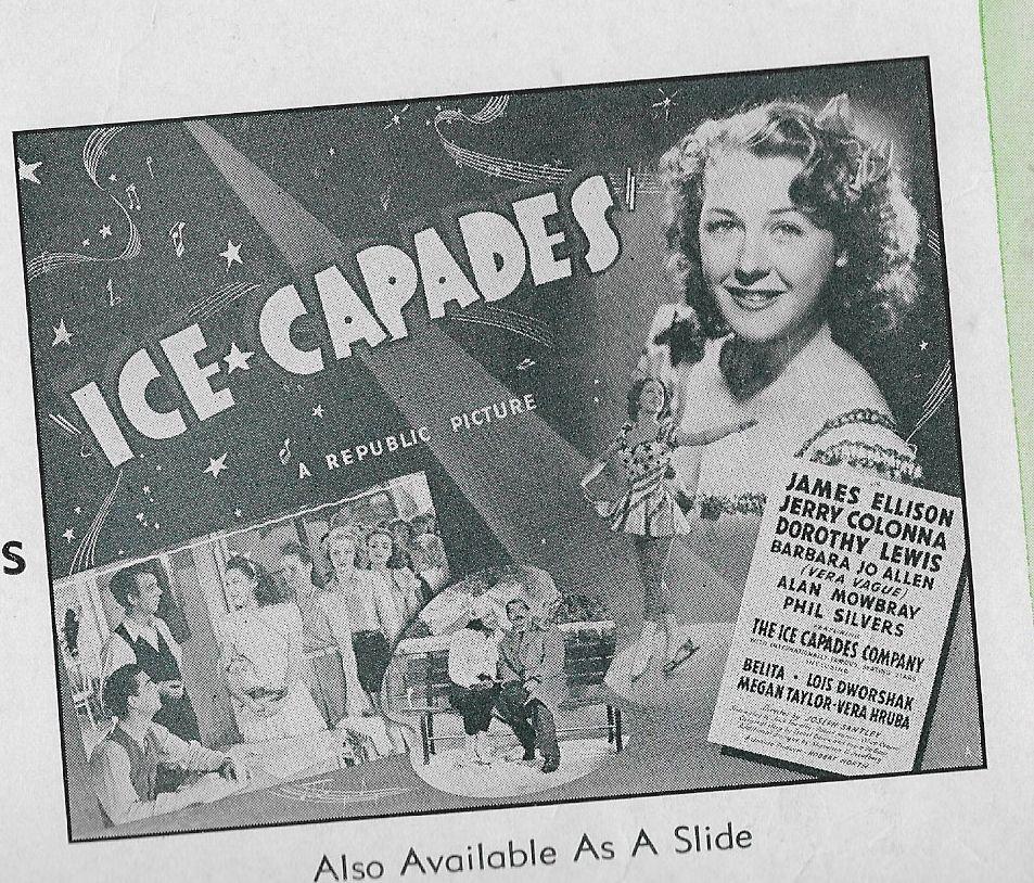 Barbara Jo Allen, Jerry Colonna, James Ellison, Dorothy Lewis, Vera Ralston, and Gus Schilling in Ice-Capades (1941)