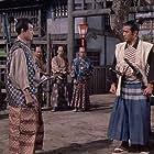 Toshirô Mifune and Kôji Tsuruta in Zoku Miyamoto Musashi: Ichijôji no kettô (1955)
