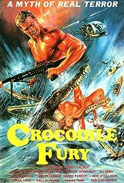 Crocodile Fury Poster