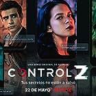 Zión Moreno, Michael Ronda, and Macarena Garcia Romero in Control Z (2020)