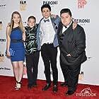Jade Pettyjohn, Jovan Armand, Jonah Beres, and Diego Josef in Girl Flu. (2016)