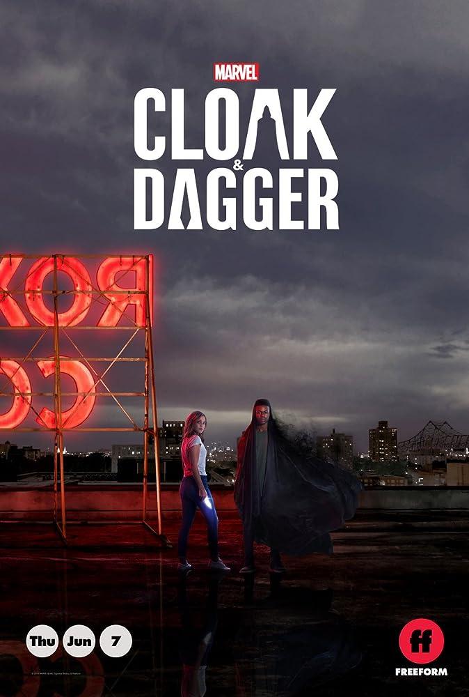 Apsiaustas ir Durklas 1 Sezonas / Cloak & Dagger Season 1 (2018) žiūrėti online