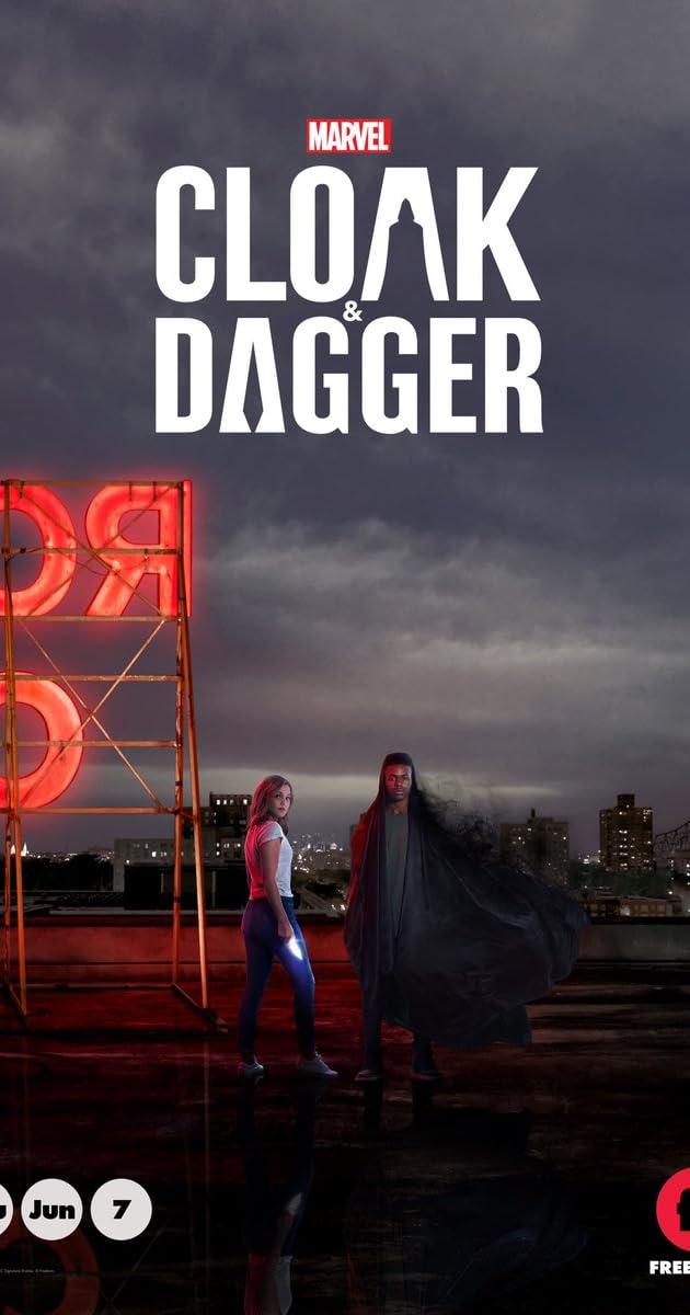 Apsiaustas ir Durklas 1 sezonas / Cloak & Dagger Season 1 (2018)
