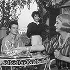 Bette Davis, Horst Buchholz, and Daniela Rocca in La noia (1963)