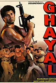 Ghayal (1990) Poster - Movie Forum, Cast, Reviews