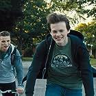 Darren Mann and Josh Wiggins in Giant Little Ones (2018)