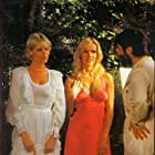 Brigitte Lahaie, Karine Gambier, and Will Stoer in Die Nichten der Frau Oberst (1980)
