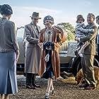 Elizabeth McGovern, Hugh Bonneville, Harry Hadden-Paton, and Laura Carmichael in Downton Abbey (2019)