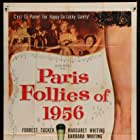Gurney Bell, Bill Days, Martha Hyer, Frank Parker, Martin Sperzel, Forrest Tucker, Barbara Whiting, The Sportsmen Quartet, and Jay Meyer in Paris Follies of 1956 (1955)