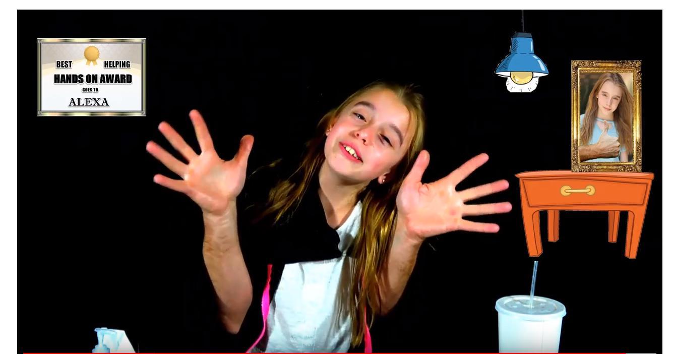 Alexa Lohman in Alexa Big Hands (2018)