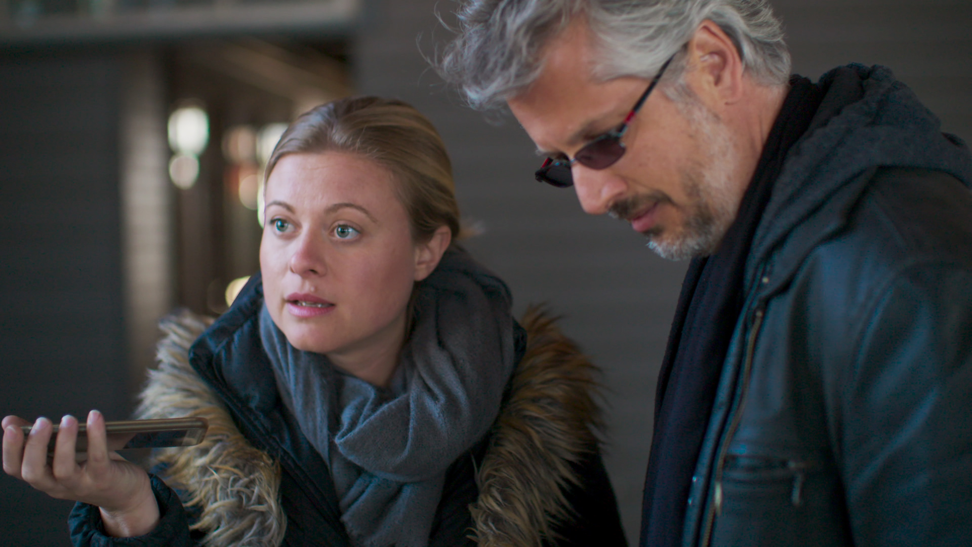Bonnie Piesse and Mark Vicente in The Vow (2020)