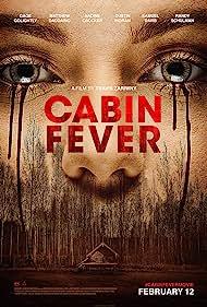 Nadine Crocker and Samuel Davis in Cabin Fever (2016)