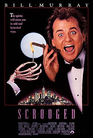 Movie Scrooged (1988)