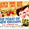 David Niven, Kathryn Grayson, and Mario Lanza in The Toast of New Orleans (1950)