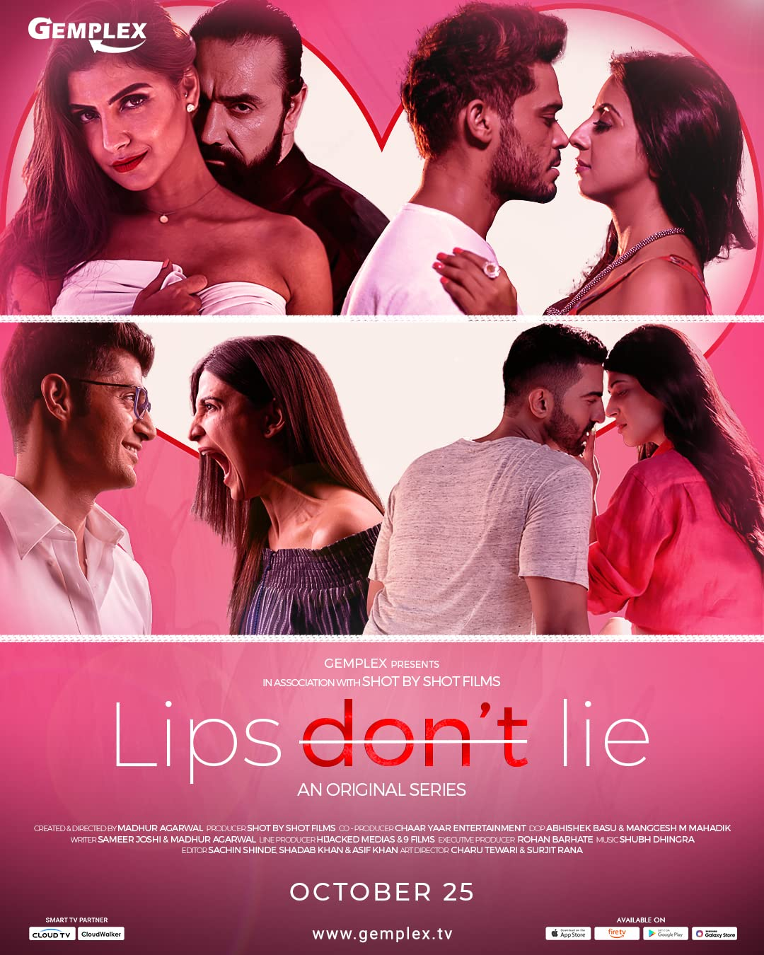 Lips Don't Lie (2020) Hindi Gemplex WEB-DL x265 AAC ESUB