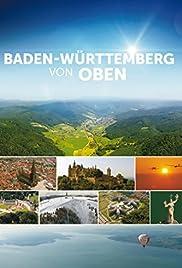 Baden-Württemberg von oben Poster