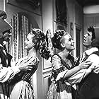 Barbara Carroll, Franco Franchi, Heidi Hansen, and Ciccio Ingrassia in I due sanculotti (1966)