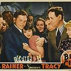 Spencer Tracy, Eddie Quillan, Luise Rainer, Regis Toomey, and Alice White in Big City (1937)